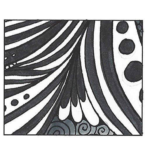 Tombow 56621 Dual Brush Pen, N15 - Black, 1-Pack. Blendable, Brush and Fine Tip Marker by Tombow (Image #3)