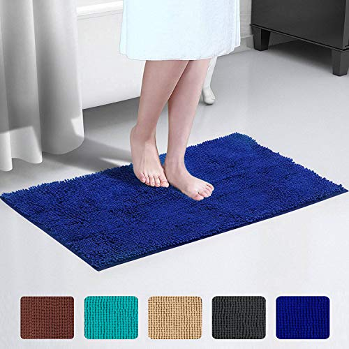 JML Bath Rug, Bath Rugs for Bathroom - Non Slip Absorbent Bath Mat(20