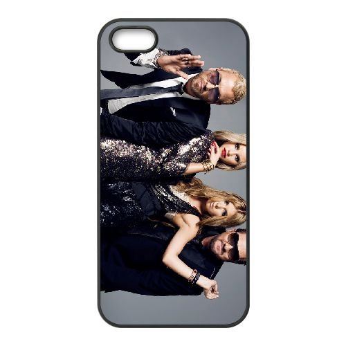 Ace Of Base 002 coque iPhone 5 5S cellulaire cas coque de téléphone cas téléphone cellulaire noir couvercle EOKXLLNCD21329