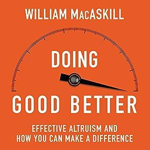 Doing Good Better Audiobook