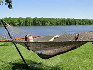 Polyester Rope Hammock - Soft-Woven Deluxe Color Cream