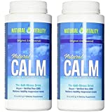 Natural Vitality Natural Calm Magnesium Anti Stress, Original, 16 oz (2 Times 16 OZ)