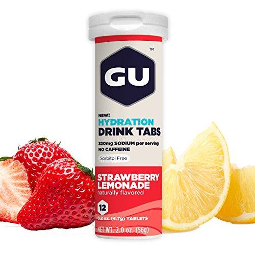 GU Hydration Electrolyte Strawberry Lemonade