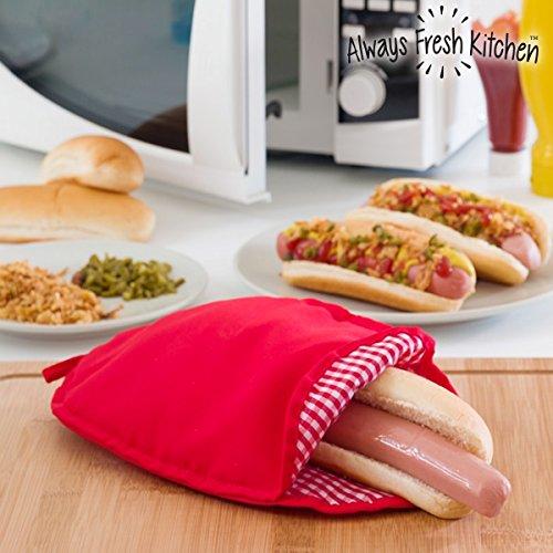 Bolsa Cocinar Perritos Calientes Microondas Hot Dogs Rápido ...