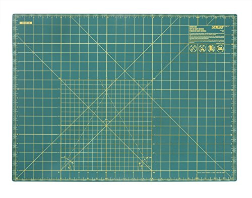OLFA 9881 RM-SG 18-Inch x 24-Inch Self-Healing Double-Sided Rotary Mat