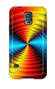 Cute Tpu DeirdreAmaya Multicolored Vortex Case Cover For Galaxy S5
