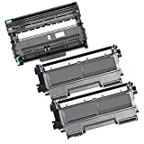 3PK-2 High Yield Inkfirst® Toner Cartridges + 1 Drum Unit TN-450 DR-420 Compatible Remanufactured for Brother TN-450 DR-420 (2 Toner + 1 drum) DCP-7060D DCP-7065DN MFC-7360N MFC-7460DN MFC-7860DW HL-2220 HL-2230 HL-2240 HL-2240D HL2270DW HL-2280DW