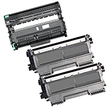 3PK-2 High Yield Inkfirst Toner Cartridges + 1 Drum Unit TN-450 DR-420 Compatible Remanufactured for Brother TN-450 DR-420 (2 Toner + 1 drum) DCP-7060D DCP-7065DN MFC-7360N MFC-7460DN MFC-7860DW HL-2220 HL-2230 HL-2240 HL-2240D HL2270DW HL-2280DW