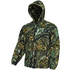 Trail Crest Fleece Hunting Camouflage Full Zip Hooded Sweatshirt (3X-Large) (XL)