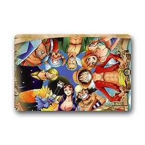 One Piece Superman Custom alfombra Rugs sala Doormats interior/exterior lavable a máquina alfombrilla de puerta piso puerta alfombrillas, 30(L) X 18(W)–grli diseño