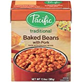 Pacific Foods Organic Baked Beans with Pork, 13.6 Ounce (Pack of 12) by Pacific Foods