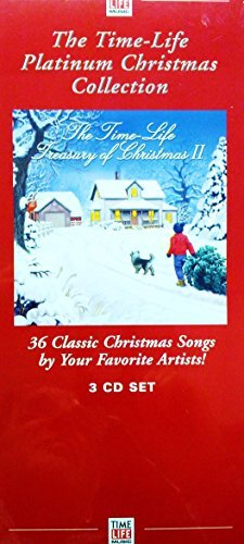 The Time-Life Platinum Christmas Collection 36 Classic Christmas Songs by Your Favorite Artists! 3 CD Set (Christmas Eddy Song Arnold)
