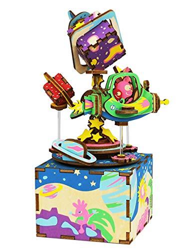 Music Sonata Moonlight Sheets (Rolife Music Box DIY Wooden Mechanical Musical Box Clockwork Home Décor)