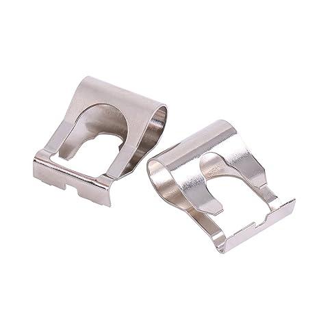 qiilu 1 par Motor limpiaparabrisas vinculación Rods armas enlace Kit de Clip de reparación