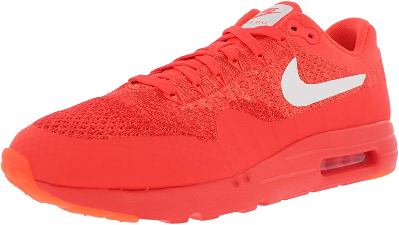 utterly stylish best sale wholesale sales Air Max 1 Ultra Flyknit Running Men's Shoes Size 13 Bright Crimson/White