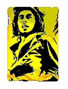 Ideal Gift - Tpu Shockproof/dirt-proof Marijuana Weed 420 Ganja Bob Marley Music Psychedelic Cover Case For Ipad(2/3/4) With Design