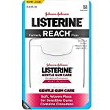 Listerine Gentle Gum Care Interdental Floss for Sensitive Gums, Oral Care, Mint, 50 Yards (Pack Of 6)