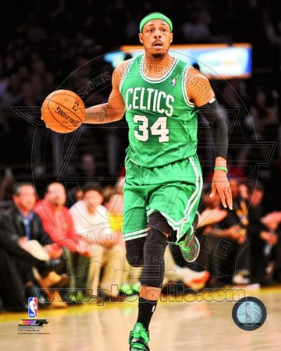 Paul Pierce Boston Celtics 2013 NBA Action Photo #2 8x10 by NBA