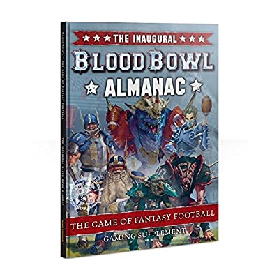 Blood Bowl Almanac Gaming Suppliment by Games Workshop