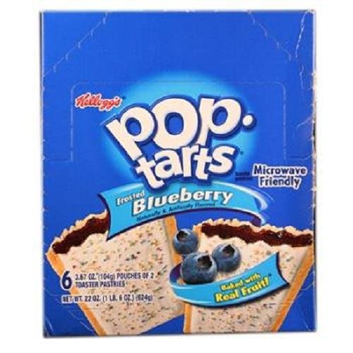 POP TART FRSTBLUEBRY3.67 by POP TARTS MfrPartNo 31032 by KELLOGG SNACKS (KEEBLER)