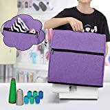Luxja Serger Machine Cover with Storage