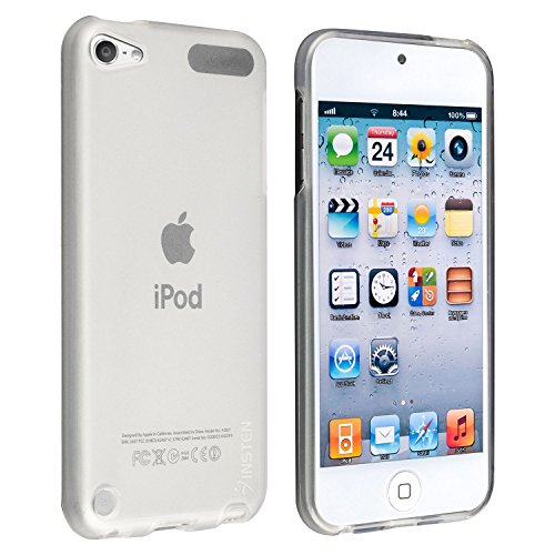 - Insten TPU Rubber Skin Case Compatible with Apple iPod Touch 6th Gen Apple iPod Touch 5th Generation, Frost Clear White