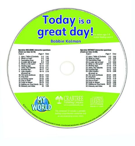 Today Is a Great Day! (My World)