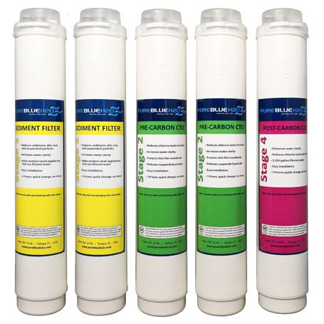 Pure Blue H2O Annual 5 Pack Replacement Filters by Pure Blue