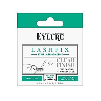 05436863650 Eylure Lashfix Strip Lash Adhesive 8.5 ml Clear Finish: Amazon.co.uk ...