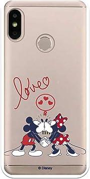 Funda para Xiaomi Mi A2 Lite - Redmi 6 Pro Oficial de Clásicos Disney Mickey y Minnie