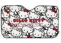 Hello Kitty Car Sun Shade Rear Head Back Side Window Sunshade Cover Mesh Visor, Aluminium Foil Flap