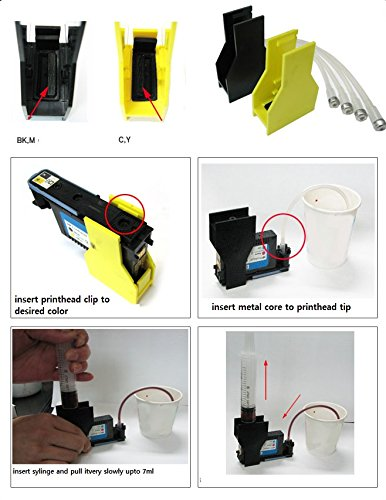 ekuten™ HP Officejet Pro 8500 Printhead Repair Cleaning Solution KIT (Only  Accesory) - HP 8000 8500A