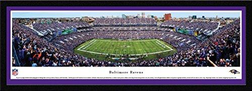 (Baltimore Ravens - 50 Yard - Blakeway Panoramas NFL Posters with Select Frame )