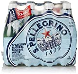 Gourmet Food : S.Pellegrino Sparkling Natural Mineral Water, 16.9 fl oz. (12 Count)