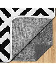 Gorilla Grip Original Felt and Rubber Underside Gripper Area Rug Pad for Hardwood Floor, Extra Thick, Plush Cushion and Sound Proofing, Many Sizes for Hardwood Floor and Hard Surface Floors