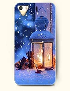 OOFIT iPhone 5 5s Case - Lamp In The Snow