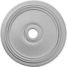 Ekena Millwork CM24DI 24-Inch OD x 3 5/8-Inch ID x 1 1/4-Inch P Diane Ceiling Medallion