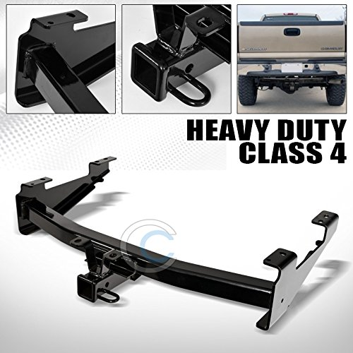 HS Power Black Finished Class 4 Trailer Hitch Receiver Rear