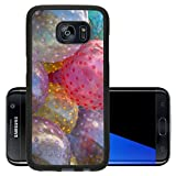 Luxlady Premium Samsung Galaxy S7 Edge Aluminum Backplate Bumper Snap Case IMAGE ID: 24946908 Plastic beach balls background