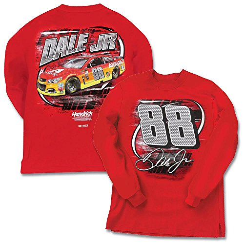 Dale Earnhardt Jr #88 NASCAR Long Sleeve T-Shirt (3x-large)