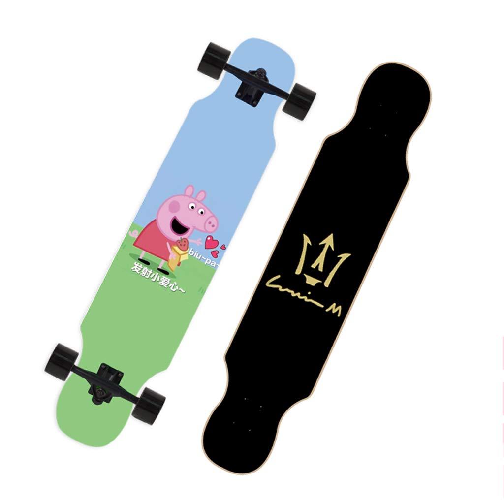 【メーカー公式ショップ】 DUWEN DUWEN スケートボード初心者スケートボードロングボード大人のダンスボード男の子と女の子のブラシストリートティーンプロの旅行四輪スクーター (色 : : C) (色 B07NQ5B4JB E E, トウーレイトスポーツオンライン:3c10b3f4 --- a0267596.xsph.ru