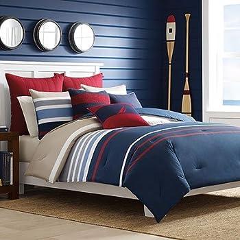 Amazon.com: 7pc. Microfiber Nautical Themed Comforter set
