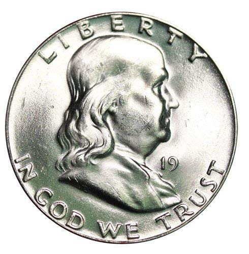1960 D Silver Franklin Half Dollar 50¢ Brilliant Uncirculated ()
