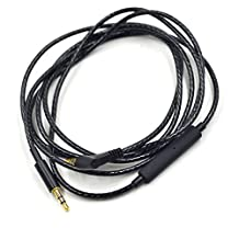 New black Replacement Audio cable Cord wire with remote and mic for AKG AKG Y40 Y45BT Y50 Y55 AKG N60 NC n60nc headphones