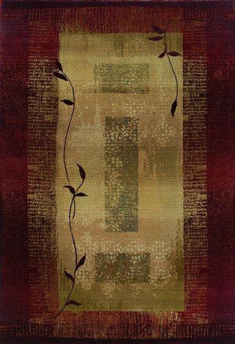Oriental Weavers Generations 544X Area Rug, 2-Feet 7-Inch by 9-Feet 1-Inch