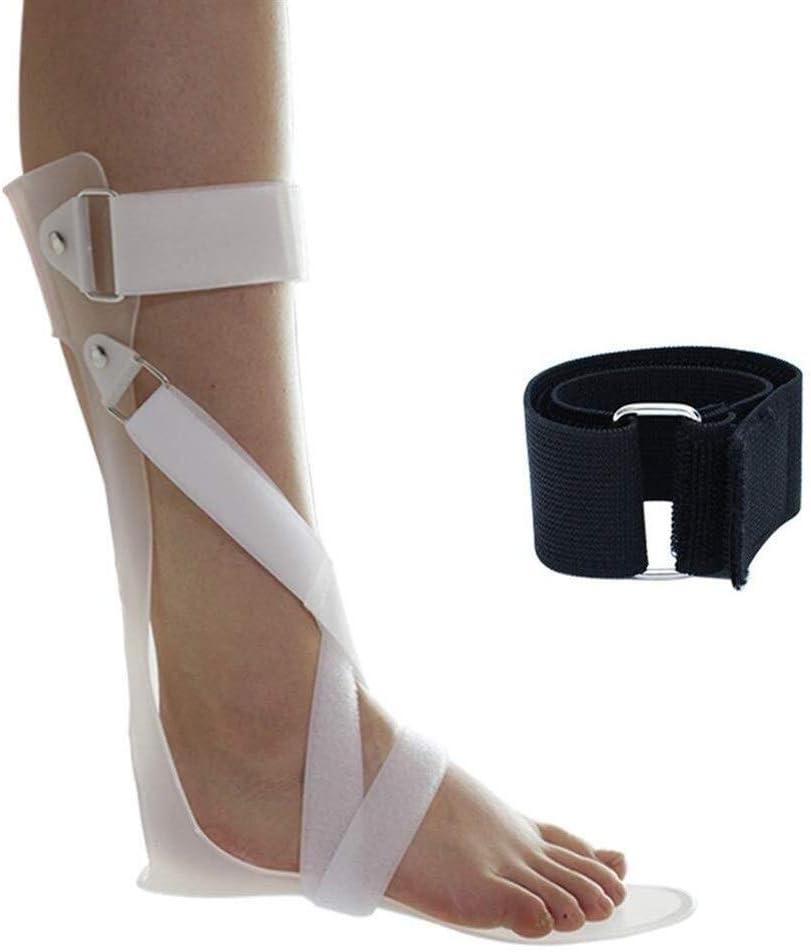 Ortesis, Corrección postural del pie Ajustable Adecuado Miembro inferior Protector de corrección fija Ortesis de pie de tobillo for esguince de lesiones de espalda y rehabilitación después de la cirug