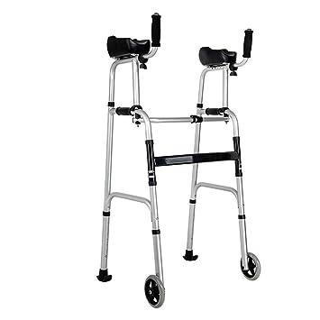 Amazon.com: Andador plegable con soporte para brazos, con ...
