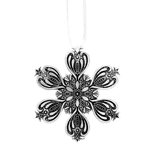 Wendell August Snowflake Ornament, Metal Christmas Ornament, Made in America, -