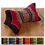 LivAsia Bone Shape Comfort Neck Support, 12x8x8 inches (LxWxH), Firm Cushion | Thai Pillow | Thai Cushion | Headrest | Bone Shape Cushion