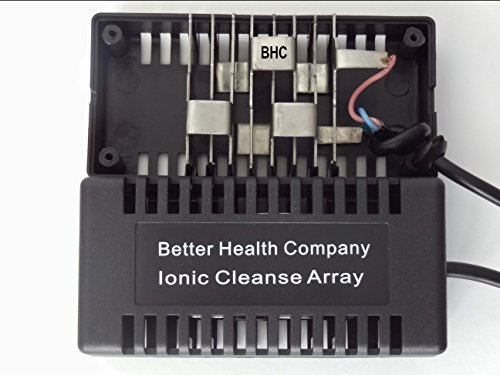 Rectangular Black Ionic Cleanse Detox Foot Spa Arrays by Better Health Company by Better Health Company (Image #1)